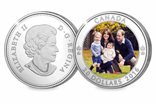 This one ounce silver coin was issued to mark the Royal visit of The Duke and Duchess of Cambridge, Prince George and Princess Charlotte, featuring a photograph of this Royal Family by by Chris Jelf.