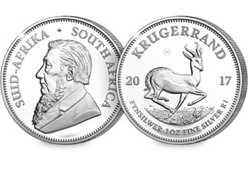 50th Anniversary 1oz Silver Proof Krugerrand