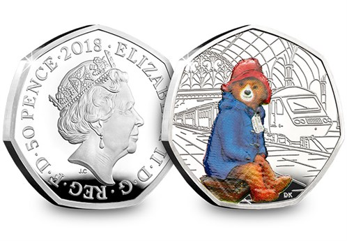 UK 2018 Paddington at the Station Silver Proof (4)