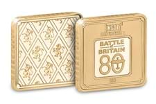 This special Battle of Britain 1g Pure Gold Collector Ingot has been released to mark the 80th Anniversary of Battle of Britain.