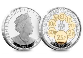 IOM-Silver-with-spot-gold-plate-£5-50-years-decimalisation-both-sides.jpg (1)
